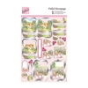 Foiled Decoupage - Springtime Cottage