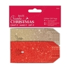 Die-cut Glitter Gift Tags (20pk) - Create Christmas - Red & Gold