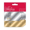 Metallic Die-cut Gift Tags (20pk) - Create Christmas - Gold & Silver