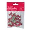 Large Decorative Berries (24pk) - Red
