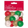 Mini Baubles (12pk) - Create Christmas