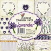 Paper pack 6x6 Lavender