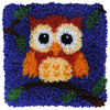 Latch Hook 30x30cm Baby Owl