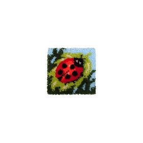 Latch Hook 30x30cm Lady Beetle