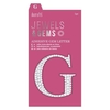 Adhesive Gem Letter - G - Jewels & Gems