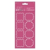 Gem Parenthesis Stickers (8pcs) - Jewels & Gems
