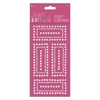 Gem Border Stickers (12pcs) - Jewels & Gems