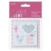 Embellished Topper - LOVE - Jewels & Gems