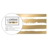 Craft Tape (3m) - Elements Metallics - Gold Stripe