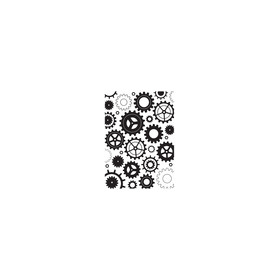 Embossing folder Cogwheels
