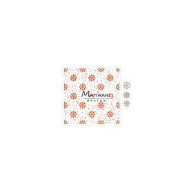 Marianne D Embossing folder Stippen DF3431 14,5x19 cm (01-17)