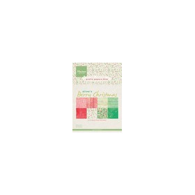 Marianne D Paper pad Berry christmas PB7053 15x21 cm (09-17)