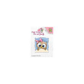 Clear stamps The owl family Get well soon