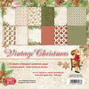 CP-VC01 VINTAGE CHRISTMAS Scrapbooking single paper 12 x12 , 200gsm 10pcs