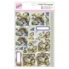 Foiled Decoupage - In the Garden