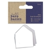 Mini Kraft Envelopes (20pcs) - Bare Basics - White