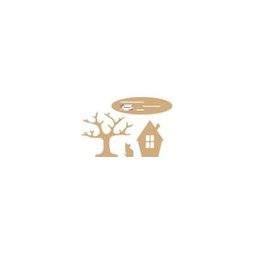 Dutch Doobadoo Dutch MDF art - herfst set 2 4mm 460.440.400 (10-17)