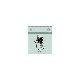 Dixi Craft - Die - Snowman  MD0021   68 x 78 mm