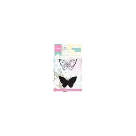 Marianne D Cling Stempel Tiny's Vlinders 2 MM1614 (01-18)