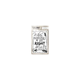 Coosa crafts clearstamps A6 - Go left A6 (Eng) COC-027