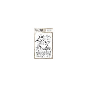 Coosa crafts clearstamps A6 -Go Dream A6 (Eng) COC-029