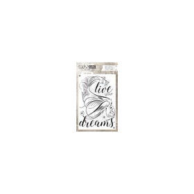 Coosa crafts clearstamps A6 -Live Dream A6 (Eng) COC-030