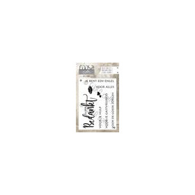 Coosa crafts clearstamps A7 - Bedankt A7 (NL) COC-022