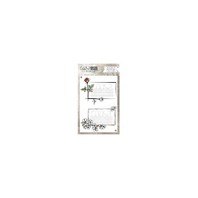 COOSA Crafts clearstamps A6 -Envelope Bloom A6 (Eng) COC-036