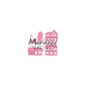 Marianne D Collectable mini dorp COL1451 32x31 - 39x23mm (04-18)
