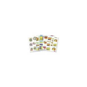 Marianne D 3D Knipvellen Flower decoupage set 6 vel IT603(IT564,565,576,577,581,582) (04-18)