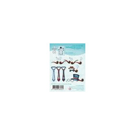 LeCrea - Combi clear stamp Men things 55.3974 (03-18)