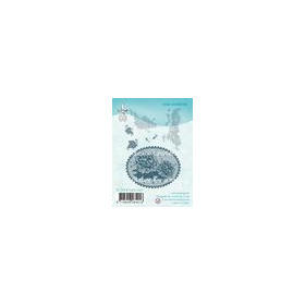 LeCrea - Clear stamp Lace oval Roses 55.4018 (03-18)