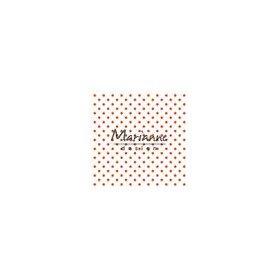 Marianne D Embossing folder Polka Dots DF3447 141x141 mm (06-18)