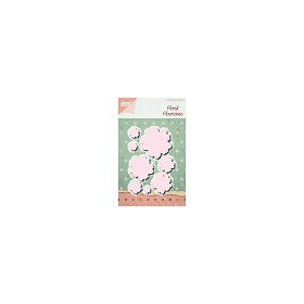 Cutting Snijstencils - Floral Flourishes - Large Flowers