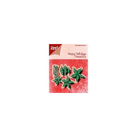 Cutting & Embossing Snij-embosstencil � HH � Poinsettia
