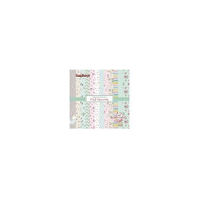ScrapBerry`s Paper Collection (6*6 - 190gsm) You & Me 190 (12 Sheet Multi-Design Set)