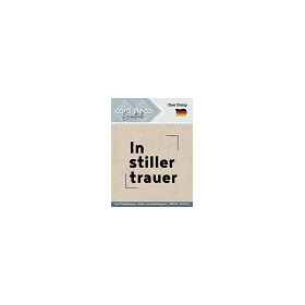 In Stiller Trauer - Textstamp