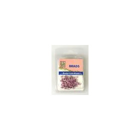 Nellie's Choice Floral brads Roze 3mm 40 ST FLP-BR-011 (8-18)