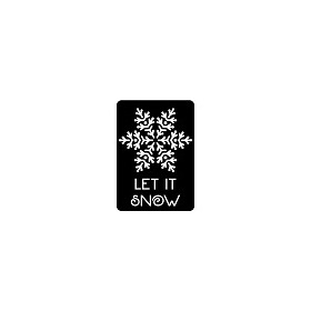 CE Mini Stencils Let It Snow