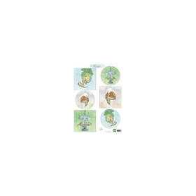 Marianne D Decoupage Tiny's birds feeding IT604A4 (10-18)