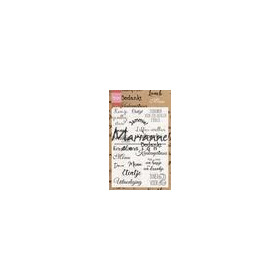 Marianne D Clear Stamps Menu CS1015 105x148 mm (11-18)