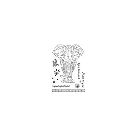 Pink Ink Desings Set Elephant
