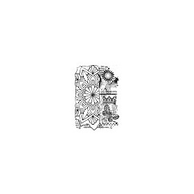 Woodware Clear Stamp Francoise Broken Tile