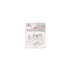 Nellies Choice Clearstempel - Pond Life - vijver CLP001 145x105mm (04-19)