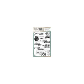 COOSA Crafts clearstamps A6 - Mixed for you COC-072 (05-19)