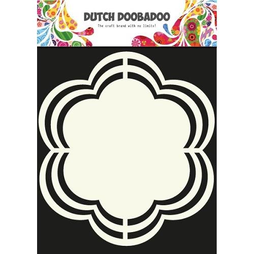 Dutch Doobadoo Dutch Shape Art Frames Flower 16x16cm