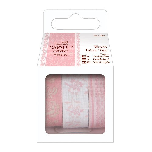 1m Fabric Tape (3pcs) - Capsule Collection - Wild Rose