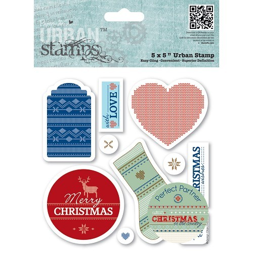 5 x 5 Urban Stamp (10pcs) - Christmas in the Country - Tags
