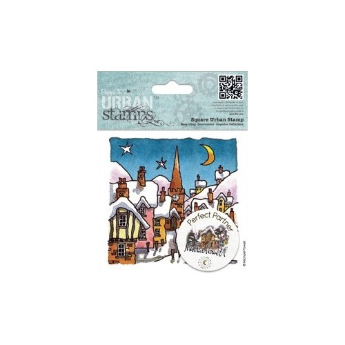4x4 urban stamp michael powell night before christmas. Black Bedroom Furniture Sets. Home Design Ideas