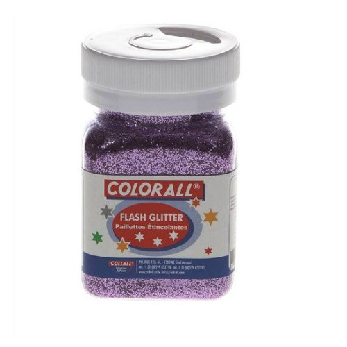 1 PT (1 PT) Colorall glitter roze 150ml/95g